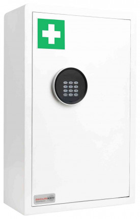 Securikey MC200D-ZE Drug & First Aid Electronic Wall Safe