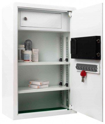 Securikey MC200D-ZE Drug & First Aid Electronic Wall Safe - internal view