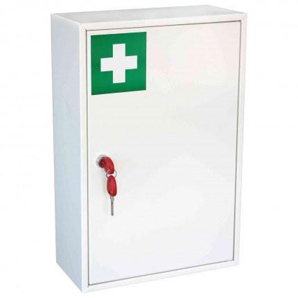 Securikey KFAK02 Wall Mounted First Aid Key Locking Cabinet - door closed
