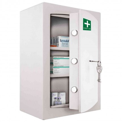 Controlled Drug and Medicine Wall Security Safe - Securikey KFAKMC2K