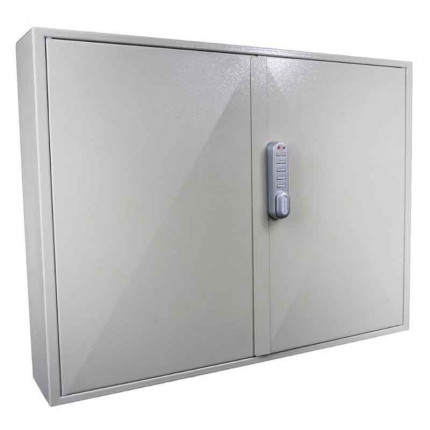 KeySecure KS400 Key Cabinet 400 hooks Electronic Cam Lock closed