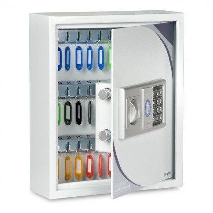 Burton KS27 Key Storage Cabinet Electronic Lock 27 Keys - door Ajar