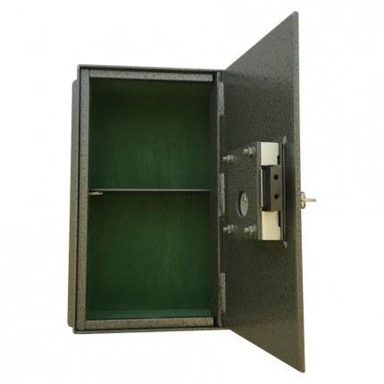 Key Secure KS4 4 Brick Wall Security Safe - open door