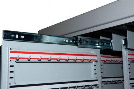 Key Secure FR1500 High Security Key Cabinet 1500 Keys slide mechanism
