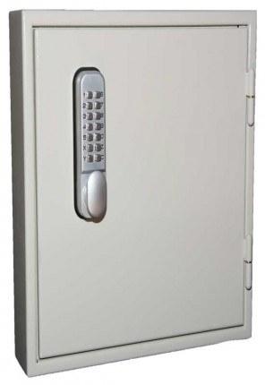 Key Secure KS100D-MD Deep Cabinet Mechanical Digital 100 Keys - Door Closed