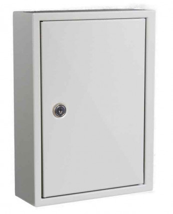 KeySecure KS30 Key Storage Wall Fixed Cabinet 30 Keys closed