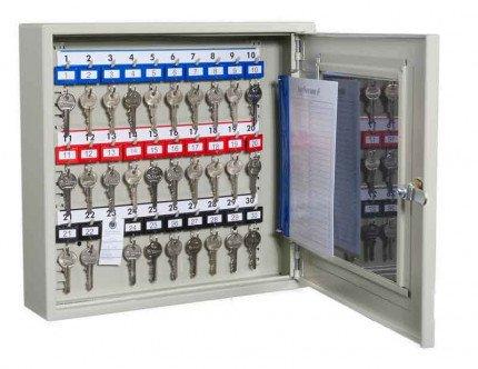 KeySecure KS30V Key View Window Cabinet 30 Keys - door open