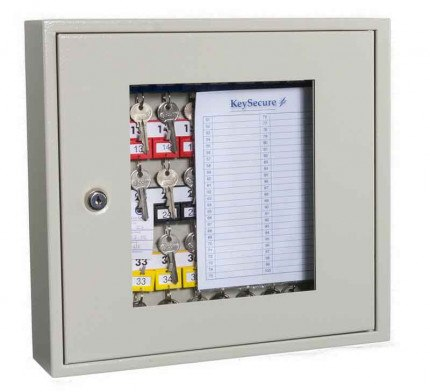 KeySecure KS40V Key View Window Cabinet 40 Keys - Key Cam Lock