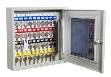 KeySecure KS40V Key View Window Cabinet 40 Keys - open