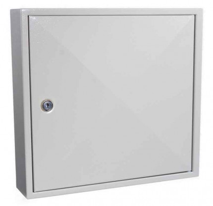 KeySecure KS50 Key Storage Wall Fixed Cabinet 50 Keys - closed