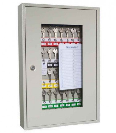 KeySecure KS50V Key View Window Cabinet 50 Keys - Key Cam Lock