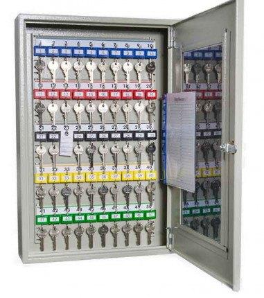 KeySecure KS50V Key View Window Cabinet 50 Keys - open
