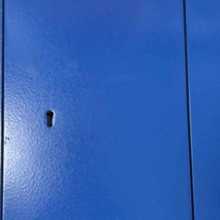 Key Secure KS4 4 Brick Wall Security Safe- Blue