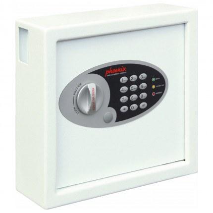 Phoenix Cygnus 30 hook Electronic Key Deposit Safe - closed