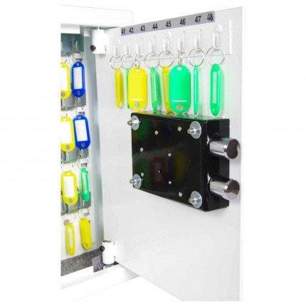 Phoenix Cygnus KS0031K 30 hooks Key Locking Key Cabinet - inside of door