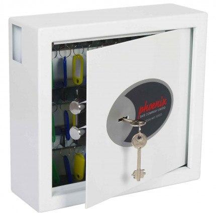 Phoenix Cygnus KS0031K 30 hooks Key Locking Key Cabinet - door ajar