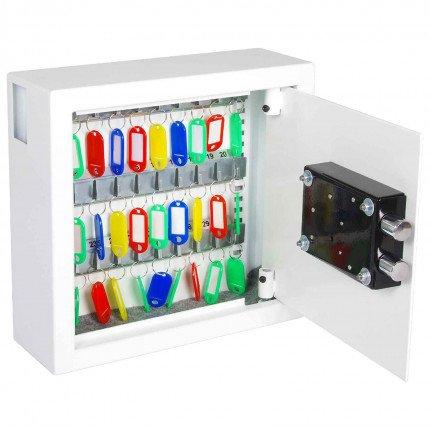 Phoenix Cygnus KS0031K 30 hooks Key Locking Key Cabinet - door open