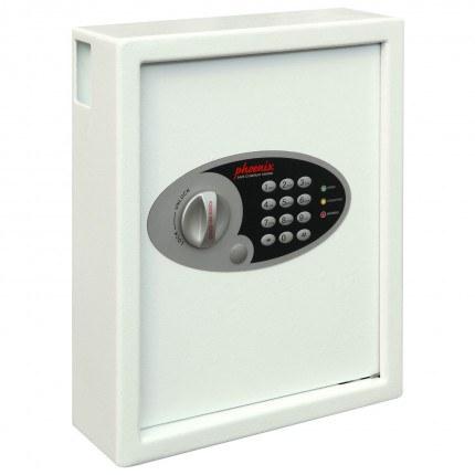 Phoenix Cygnus 48 hook Electronic Key Deposit Safe - closed