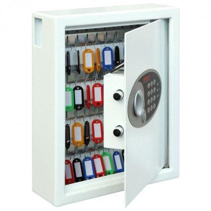 Phoenix Cygnus 48 hook Electronic Key Deposit Safe - open