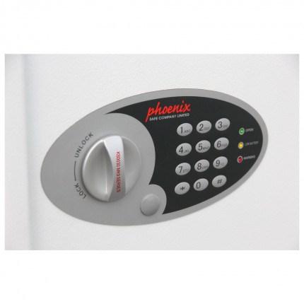 Phoenix Cygnus 500 hook Electronic Key Deposit Safe - keypad