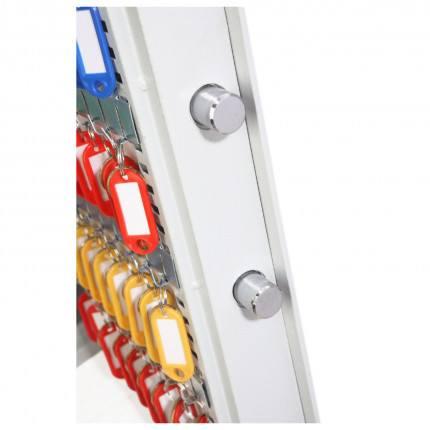 Phoenix Cygnus 48 hook Electronic Key Deposit Safe - locking bolts