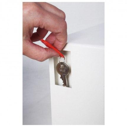 Phoenix Cygnus 30 hook Electronic Key Deposit Safe - deposit slot
