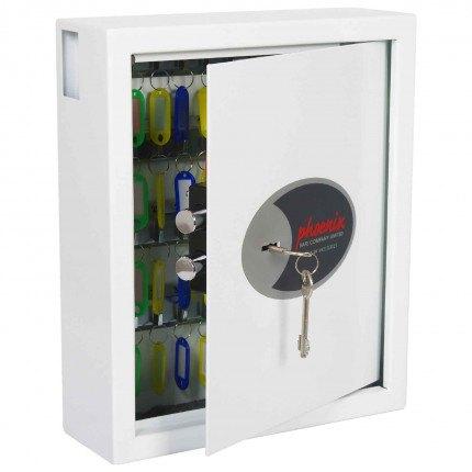 Phoenix Cygnus KS0032K 48 hooks Key Locking Key Cabinet - door ajar