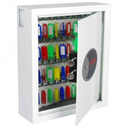 Phoenix Cygnus KS0032K 48 hooks Key Locking Key Cabinet - door open