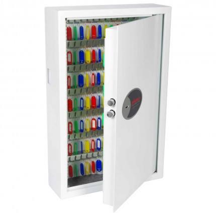 Phoenix Cygnus KS0033K 144 hooks Key Locking Key Cabinet - door open
