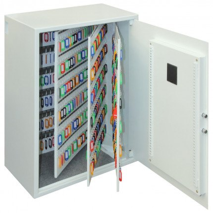 Phoenix Cygnus 700 hook Electronic Key Deposit Safe - door wide