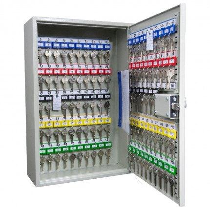 KeySecure KS100D Deep Key Cabinet 100 hooks - Mechanical Digital Lock - Open