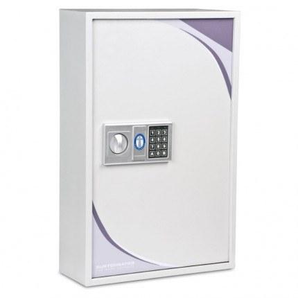 Burton KS133 Key Storage Cabinet Electronic Lock133 Keys - door closed