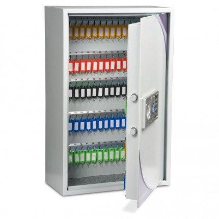 Burton KS133 Key Storage Cabinet Electronic Lock133 Keys - door open