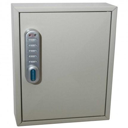 Key Secure KS50 Key Cabinet 50 Hooks Electronic Cam Lock door closed