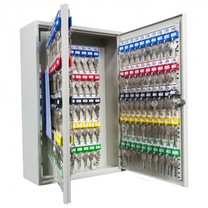 Key Secure KS200-EC-AUDIT Key Cabinet Electronic Combination 200 Keys - interior view