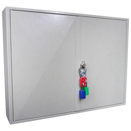 KeySecure KS200D Deep Key Cabinet 200 hooks - Padlock Hasp Lock