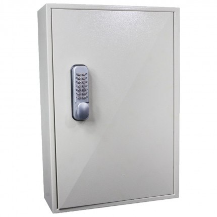 Key Secure KS250MD 250 Key Push Button Locking Key Cabinet - Closed