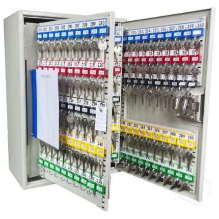 Key Secure KS300-EC-AUDIT Key Cabinet Electronic Combination 300 Keys - interior view