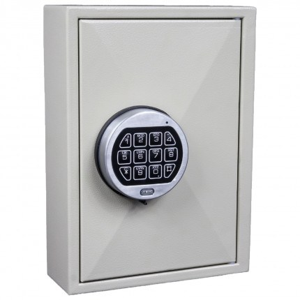 KeySecure KS30 Key Storage Wall Fixed Cabinet 30 Keys - Premium Electronic Combination Lock