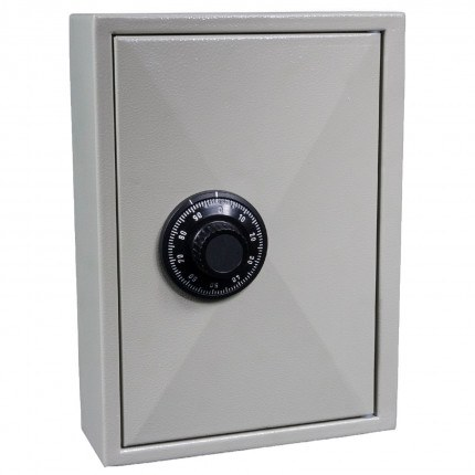KeySecure KS30 Key Storage Wall Fixed Cabinet 30 Keys - Dial Combination Lock