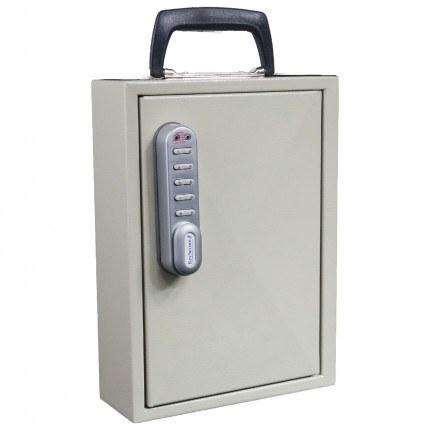 Keysecure KS30M Mobile Key Storage cabinet for 30 keys - Electronic Code Lock