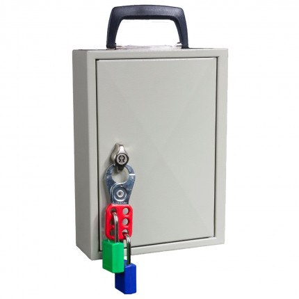 Keysecure KS30M Mobile Key Storage cabinet for 30 keys - Padlock Code Lock