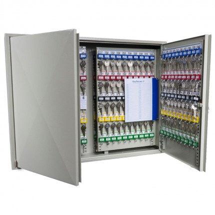 Extra Secure Key Cabinet 400 Hooks - Keysecure KSE400 - Interior View