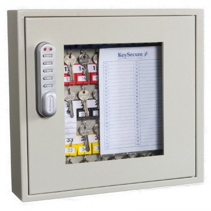 Key Secure KS40V-E Key View Window Cabinet Electronic 40 Keys