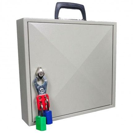 KeySecure KS50M Portable Cabinet Key Lock with carrying handle door - Padlock Hasp Lock