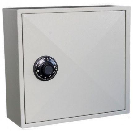 Key Secure KS50D Deep Key Cabinet 50 Hooks - Dial Combination Lock