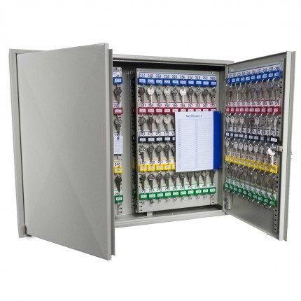 KeySecure KS600 Key Storage Wall Fixed Cabinet 600 Keys open