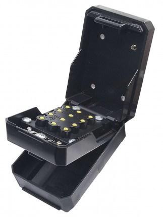 Keysecure KSC2K Large Push Button Weatherproof Spare Key Safe - open and ready to programm
