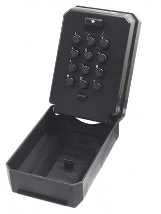 Keysecure KSC2K Large Push Button Weatherproof Spare Key Safe - Lid unhinged