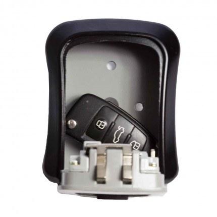 KeySecure KSC3K Outdoor 4 Wheel Combination Key Safe - Door Open